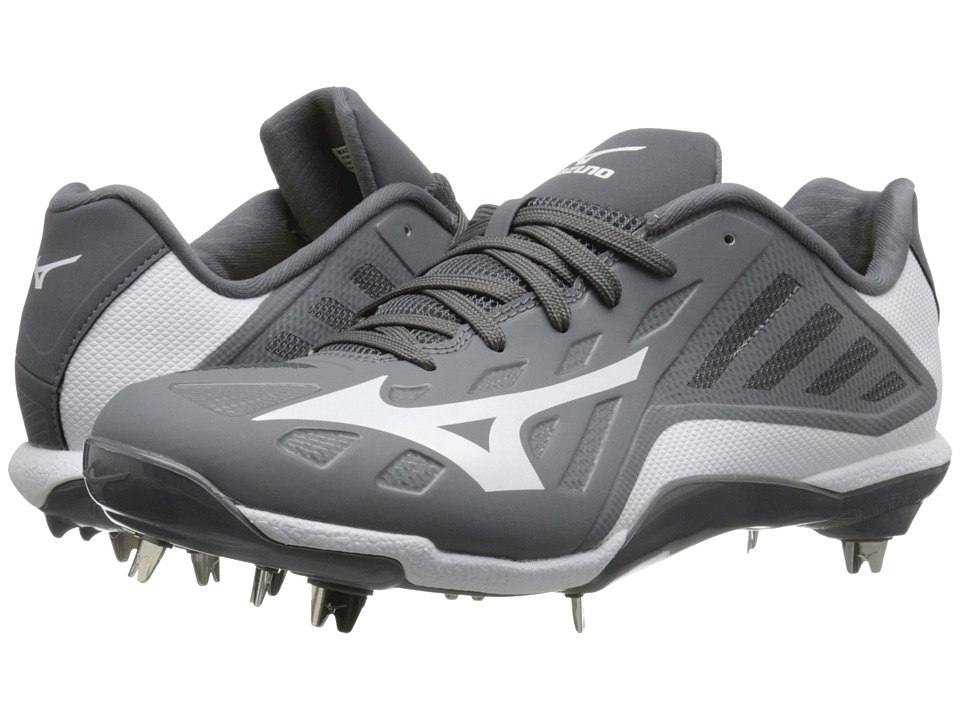 Mizuno - Heist IQ Low (Grey/White) Men