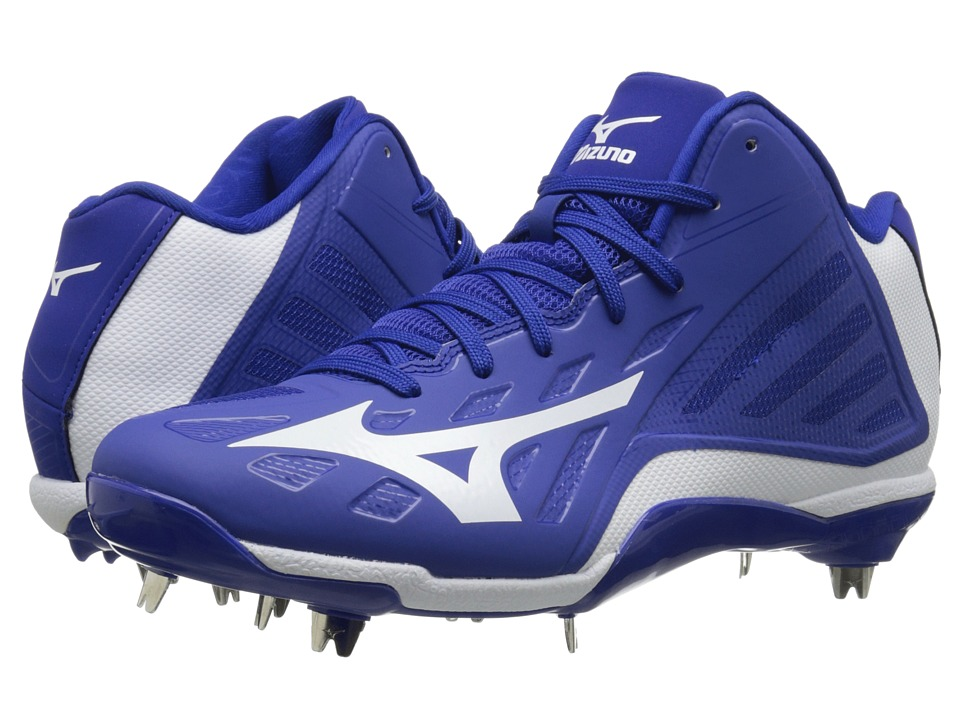 Mizuno - Heist IQ Mid (Royal/White) Men