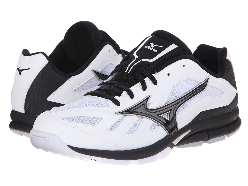 Mizuno - Players Trainer (White/Black) Men