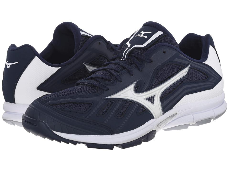 Mizuno Players Trainer Navy/White Mens Shoes