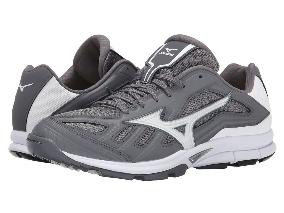 Mizuno - Players Trainer (Grey/White) Men