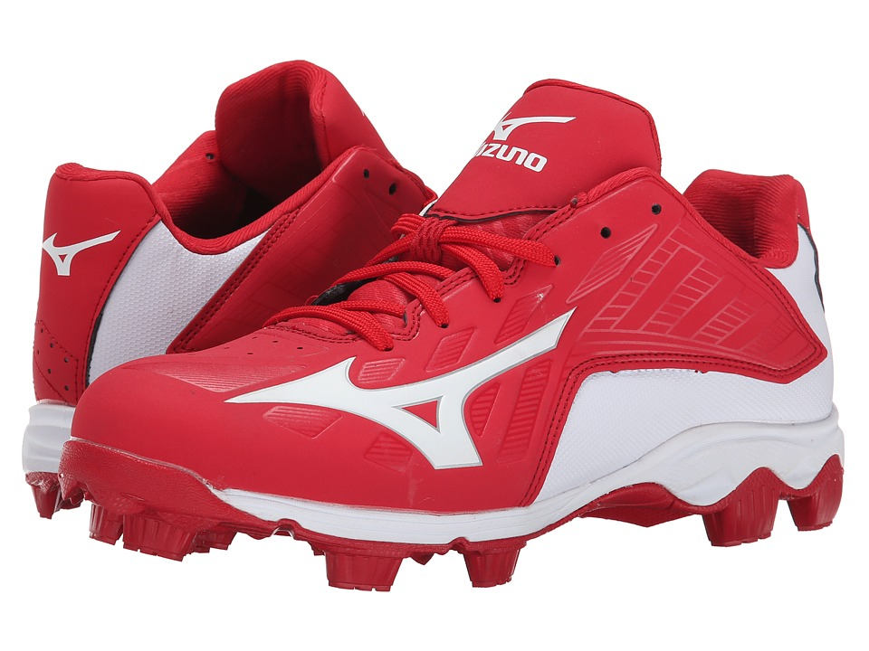 Mizuno 9-Spike(r) Advanced Franchise 8 Low (Red/White) Me...