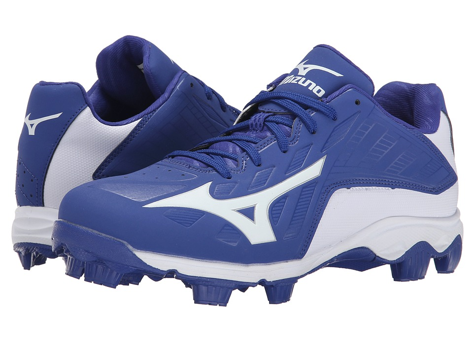 Mizuno - 9-Spike Advanced Franchise 8 Low (Royal/White) Men