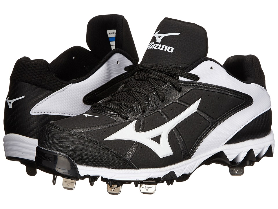 Mizuno - 9-Spike Select 2 (Black/White) Women