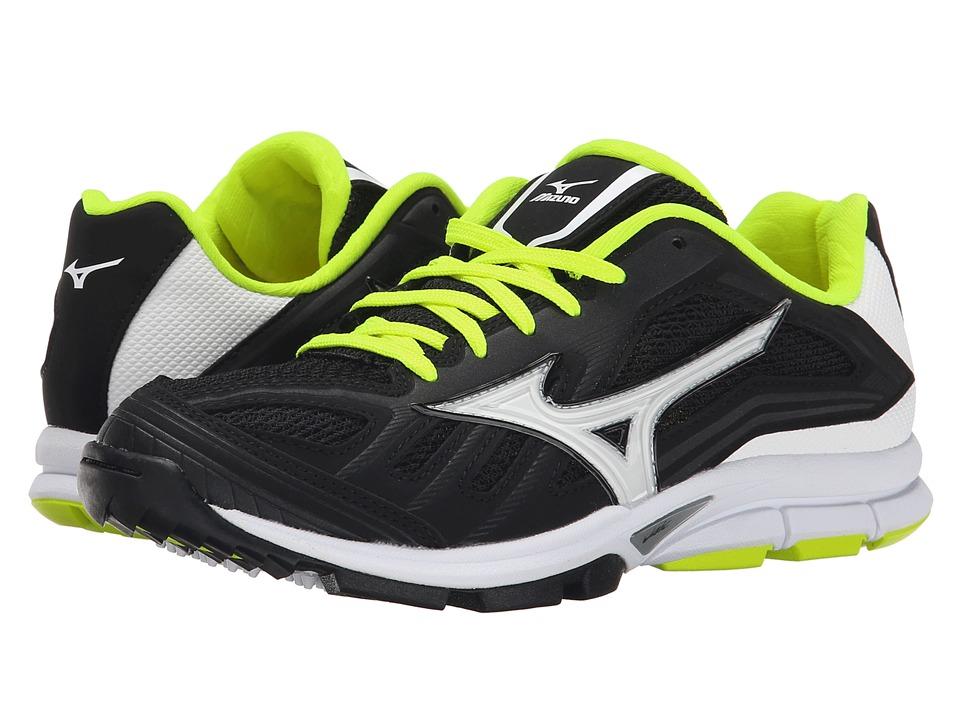 Mizuno Players Trainer Black/White Womens Shoes