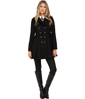 Via Spiga - Wool Fit and Flare Skating Coat
