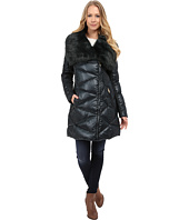 Via Spiga - Down Coat w/ Exaggerated Faux Fur Collar