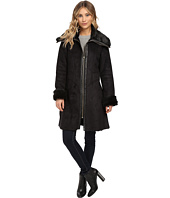 Via Spiga - Faux Winged Shearling Coat
