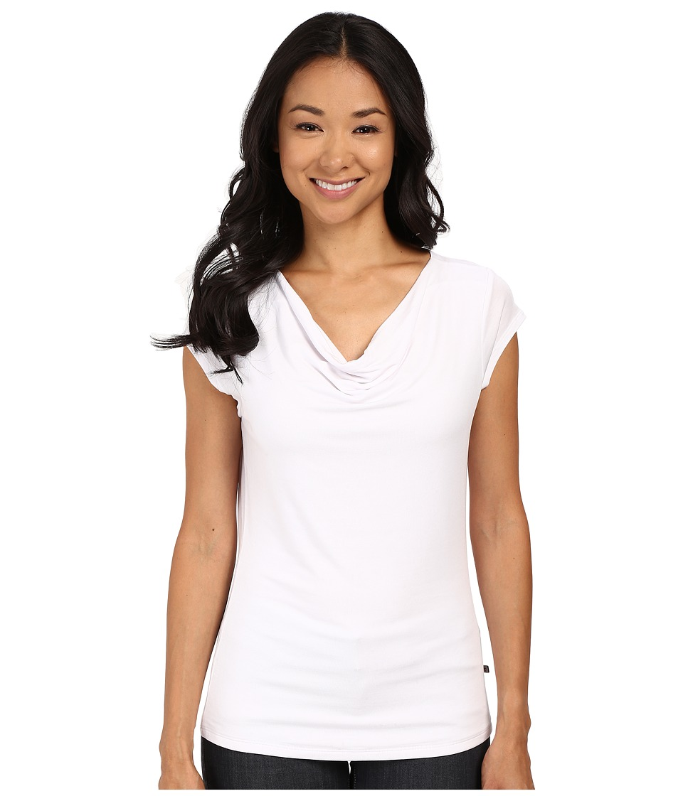 Toad&Co Susurro Short Sleeve Tee (White) Women