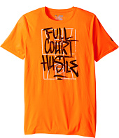 Under Armour Kids - Full Court Hustle Short Sleeve Tee (Big Kids)