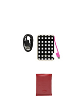 Kate Spade New York - Micro Check Resin Slim Battery Bank w/ Captive Lightning Cable for iPhone® 5, 5s, 6, 6s, 6 Plus, 6s Plus