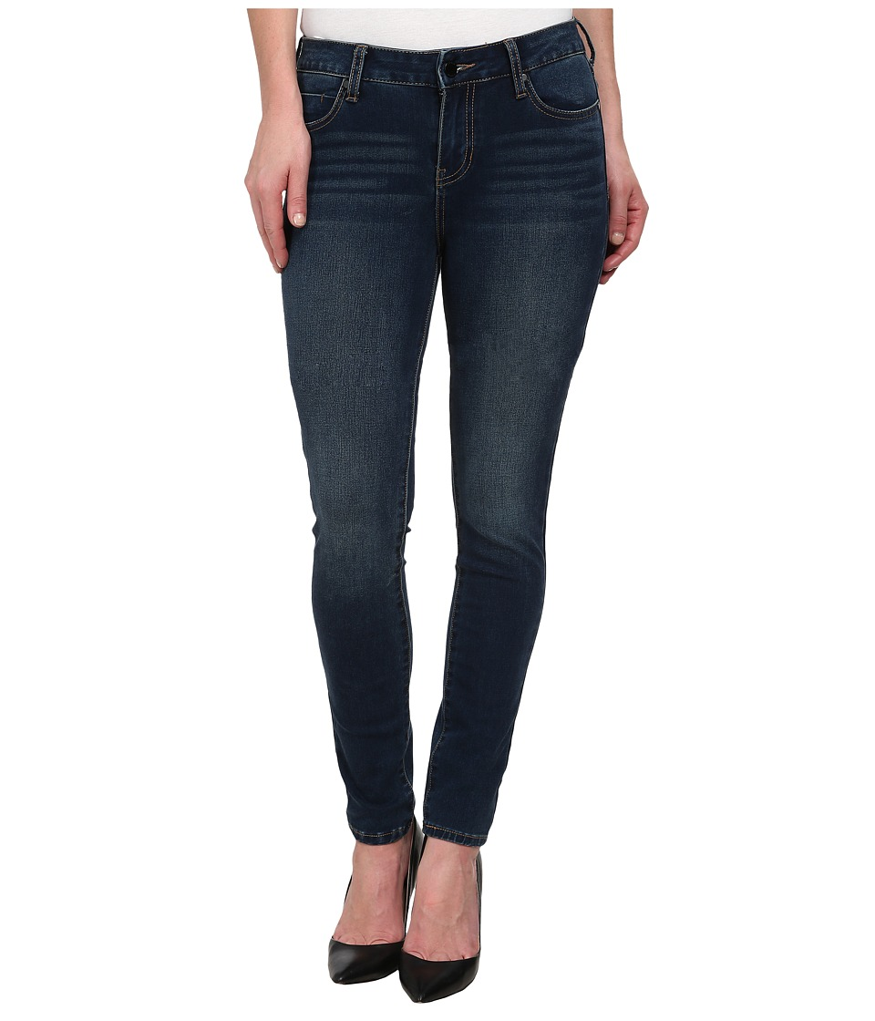 Liverpool Contour Shaper Abby Skinny Cleveland Dark Blue Womens Jeans