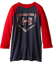 Under Armour Kids - 9 Strong 3/4 Sleeve Top (Big Kids)