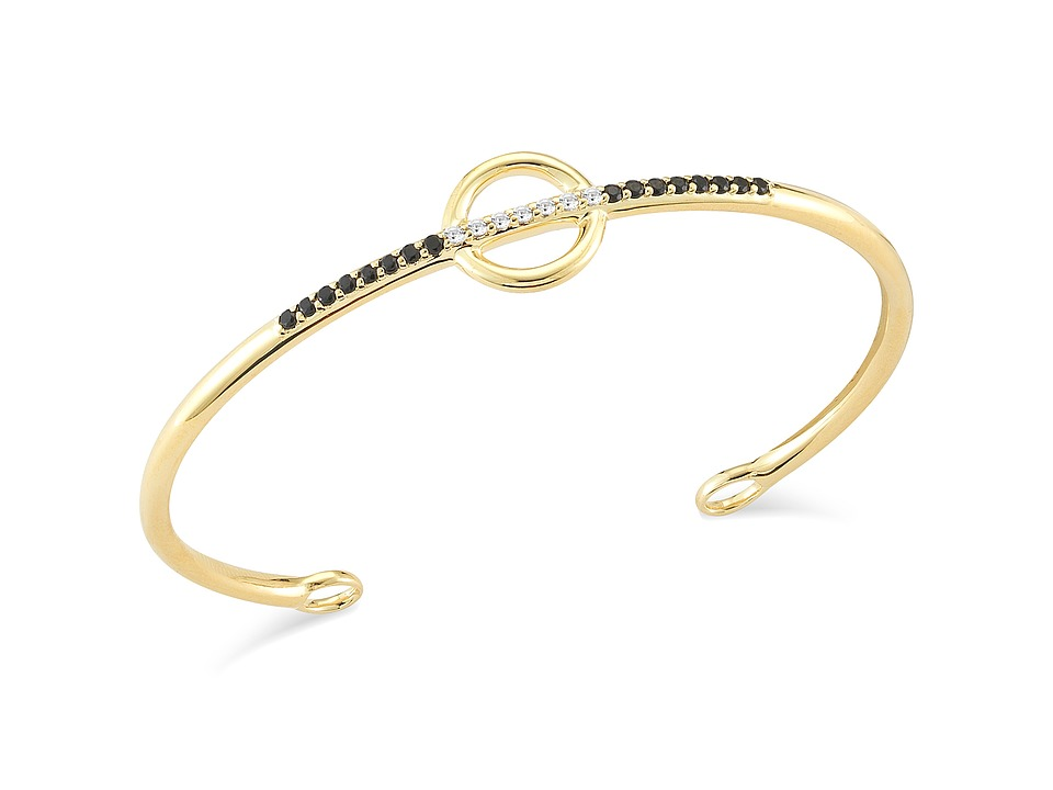 Elizabeth and James Aloba Bangle Bracelet Yellow Gold Bracelet
