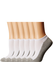 Jefferies Socks - Seamless Sport Low Cut 1/2 Cushion 6-Pack (Infant/Toddler/Little Kid/Big Kid/Adult)