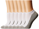 Jefferies Socks Seamless Sport Low Cut 1/2 Cushion 6-Pack (Infant/Toddler/Little Kid/Big Kid/Adult)