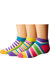 Jefferies Socks - Dots & Stripes Low Cut 6-Pack (Toddler/Little Kid/Big Kid)