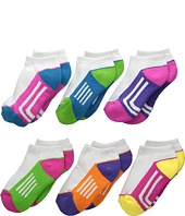 Jefferies Socks - Athletic Low Cut 1/2 Cushion 6-Pack (Toddler/Little Kid/Big Kid)