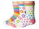 Jefferies Socks Daisy/Stripe/Dots Crew 3-Pack (Infant/Toddler/Little Kid/Big Kid)