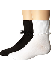 Jefferies Socks - Ruffle & Ripple Edge 2-Pack (Infant/Toddler/Little Kid/Big Kid)