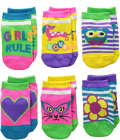 Jefferies Socks - Rule Low Cut 6-Pack (Infant/Toddler/Little Kid)