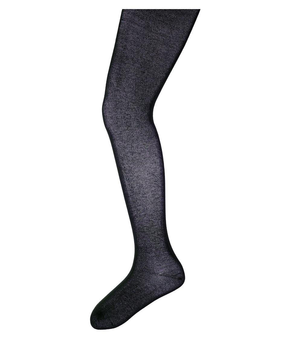 Jefferies Socks Seamless Organic Cotton Tights 2 Pack Infant/Toddler/Little Kid/Big Kid White/Navy Hose