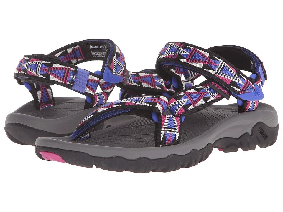 Teva Hurricane XLT Mosaic Black/Magenta Womens Sandals
