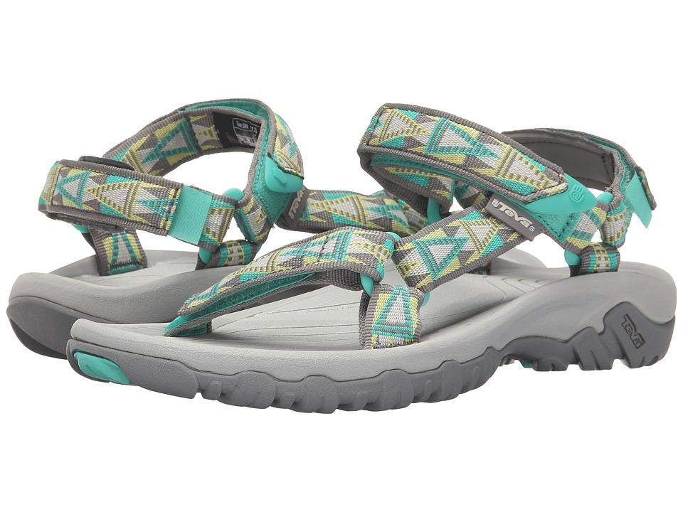 Teva Hurricane XLT Mosaic Grey/Yellow Womens Sandals