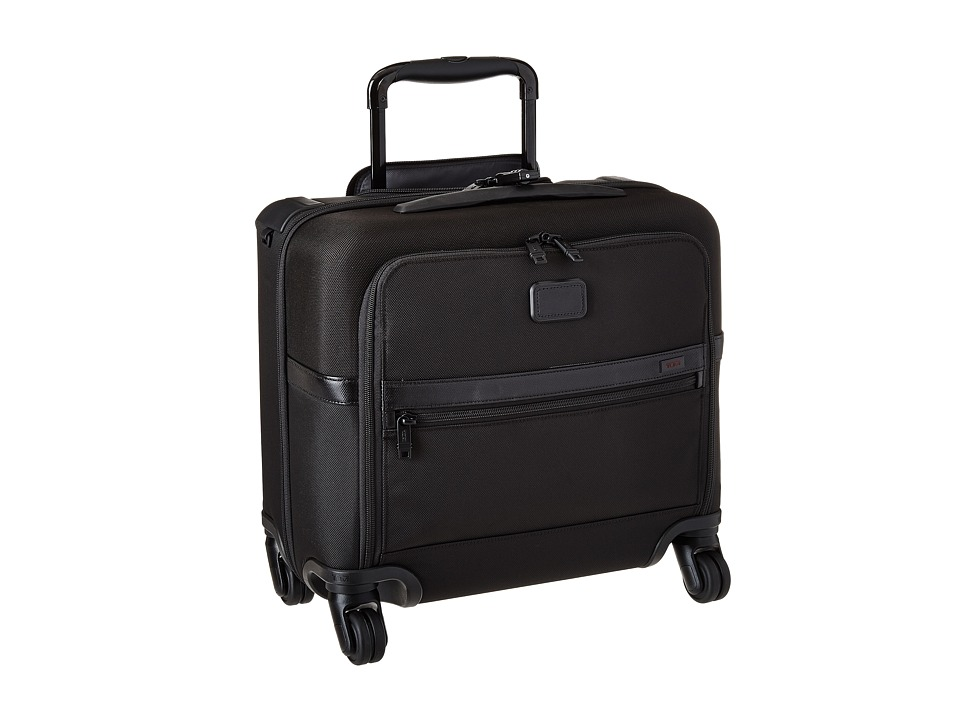 Tumi - Alpha 2 - 4 Wheeled Compact Brief (Black) Luggage