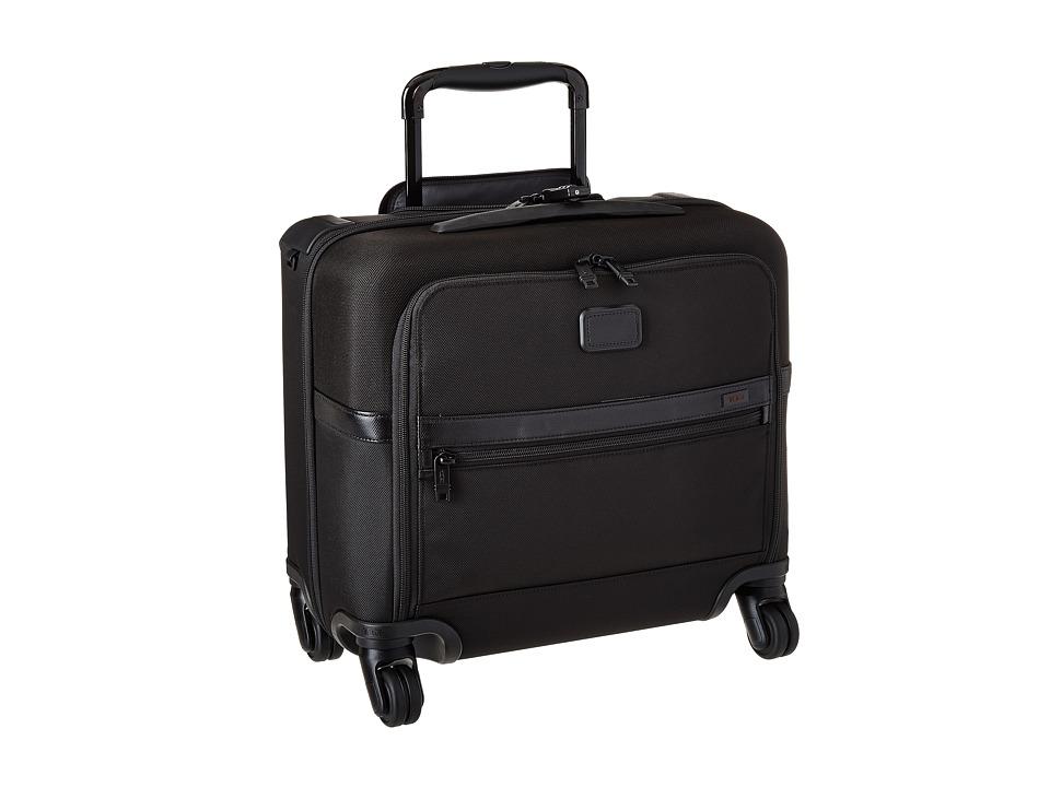 Tumi Alpha 2 4 Wheeled Compact Brief Black Luggage