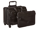 Tumi Tumi Alpha 2 - 4 Wheeled Deluxe Leather Brief with Laptop Case