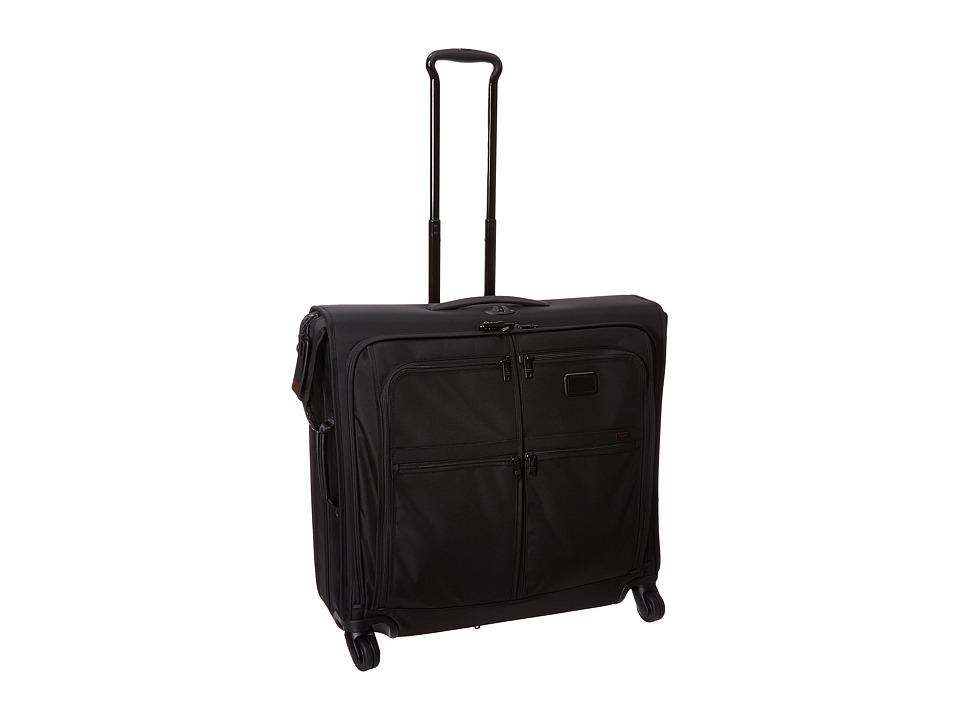 Tumi - Alpha 2 - 4 Wheeled Extended Trip Garment Bag (Black) Luggage