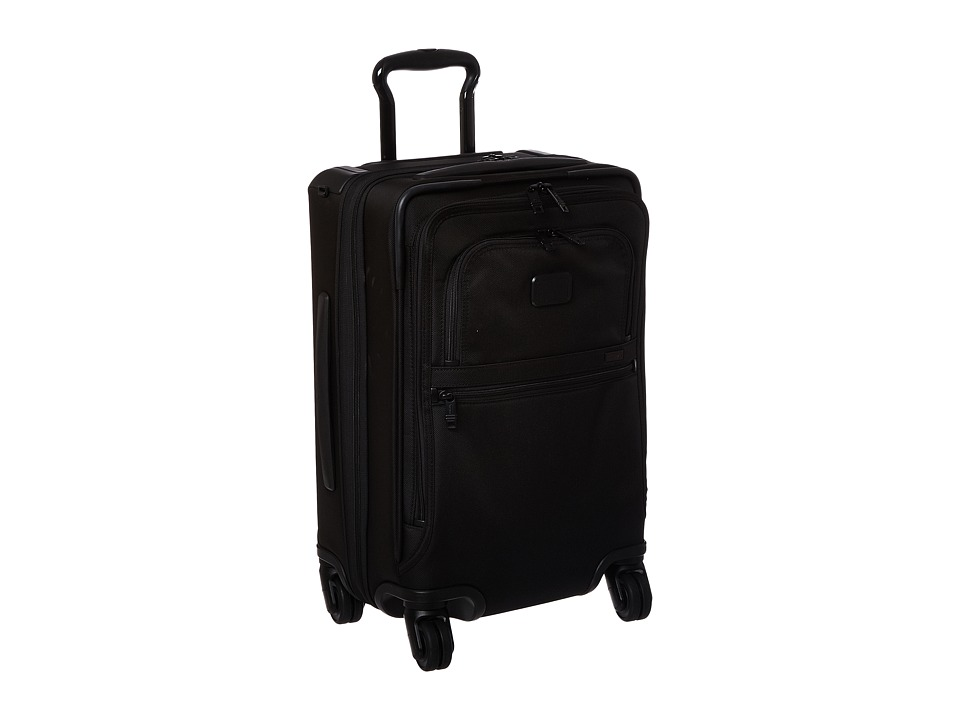Tumi Alpha 2 International 4 Wheeled Office Carry-On (Black) Carry on Luggage