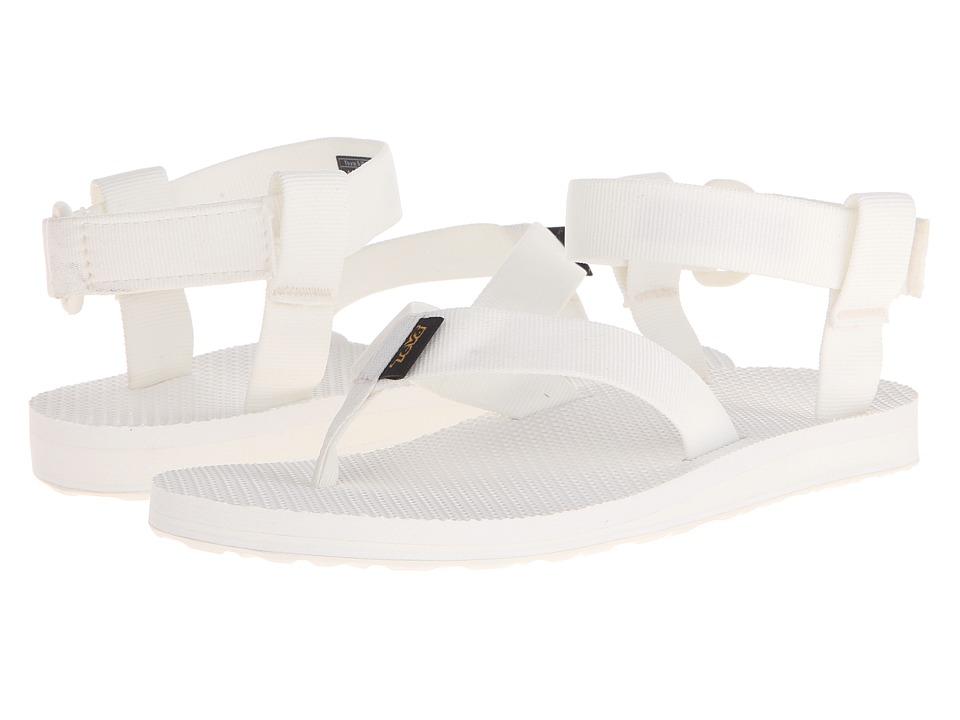 Teva Original Sandal Solid White Womens Sandals