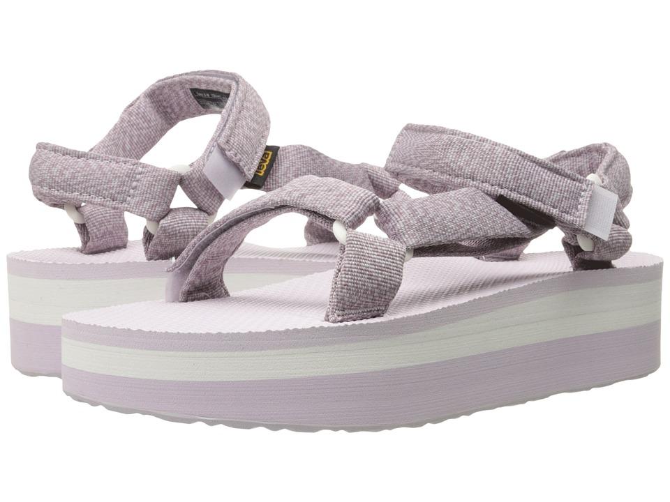 Teva Flatform Universal Marled Orchid Womens Sandals