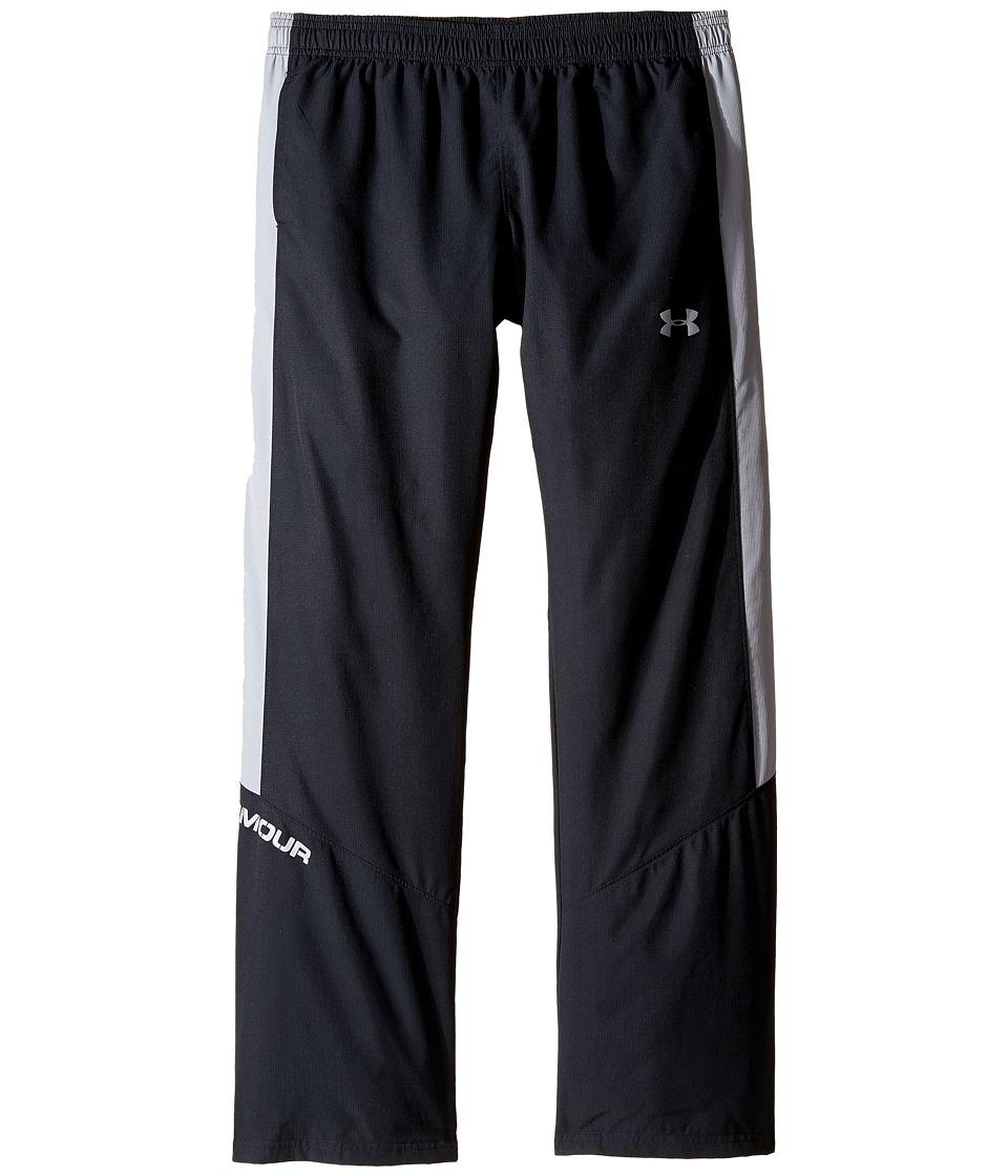 Under Armour Kids - Main Enforcer Woven Pants (Big Kids) (Black) Boys Casual Pants