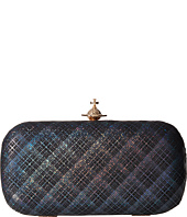 Vivienne Westwood - Galles Plaid Glitter Medium Clutch