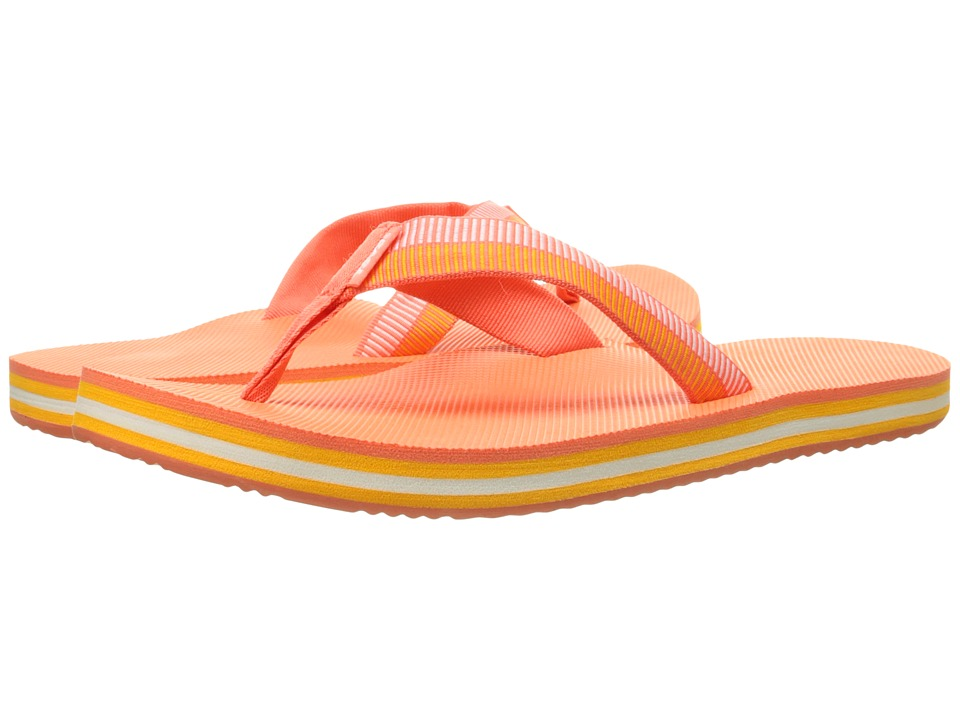 Teva Deckers Flip (Ladder Coral) Women