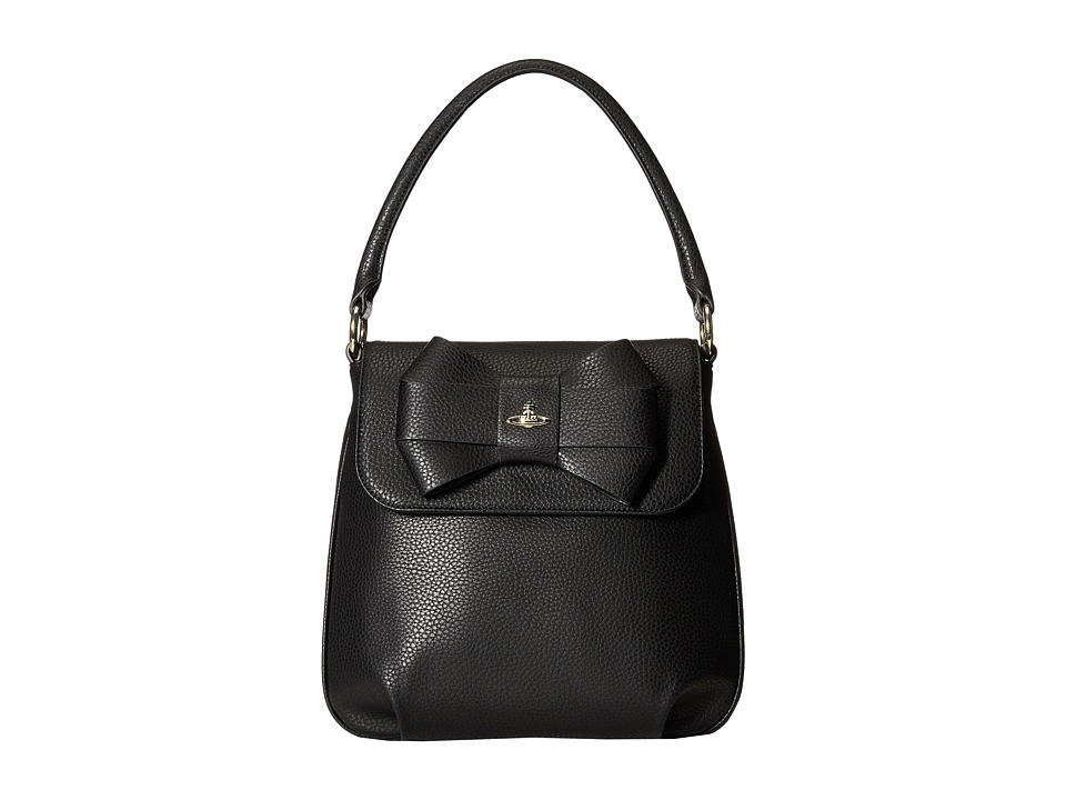 Vivienne Westwood - Bow Group Top-Handle (Black) Top-handle Handbags