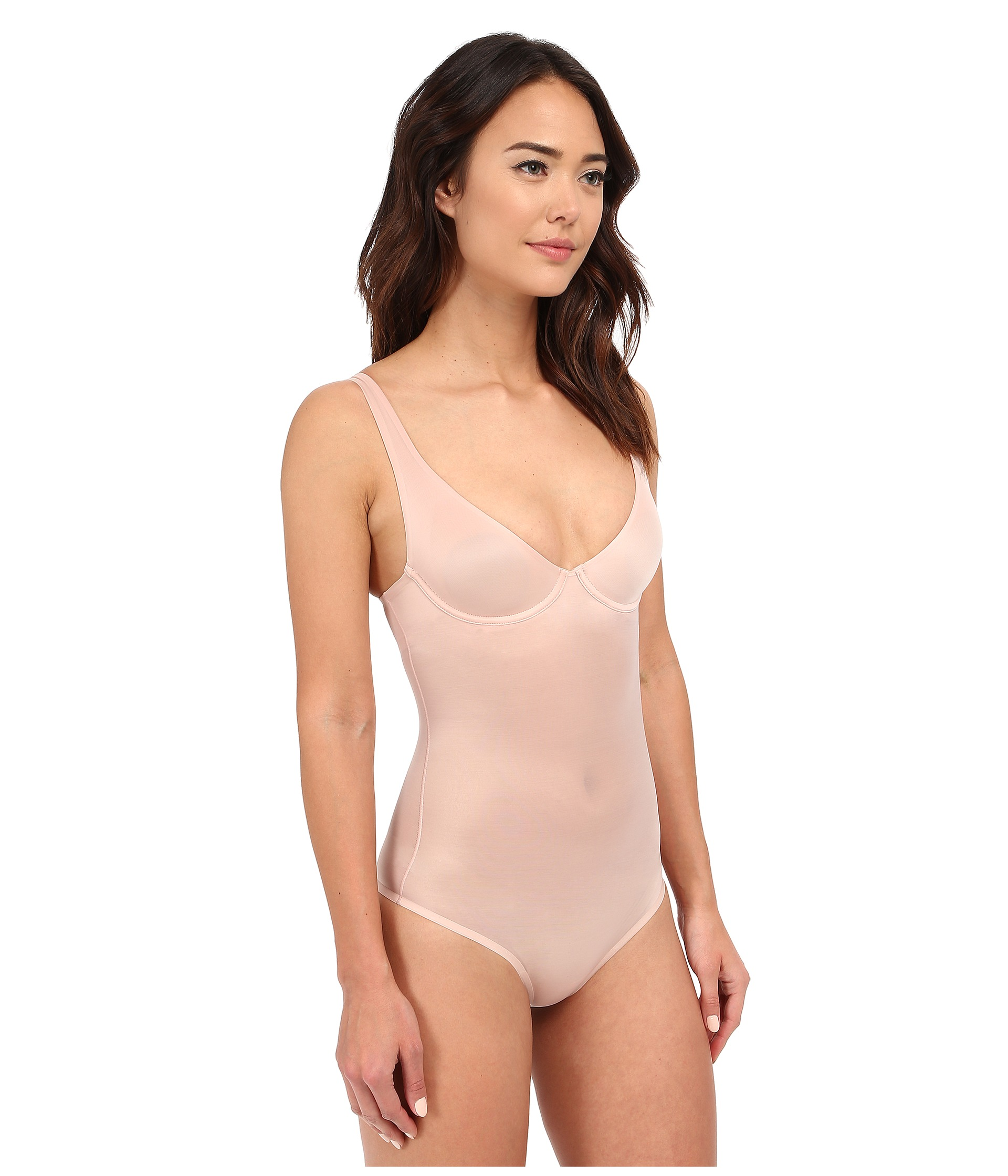 Wolford Sheer Touch Forming String Body At Zappos Com