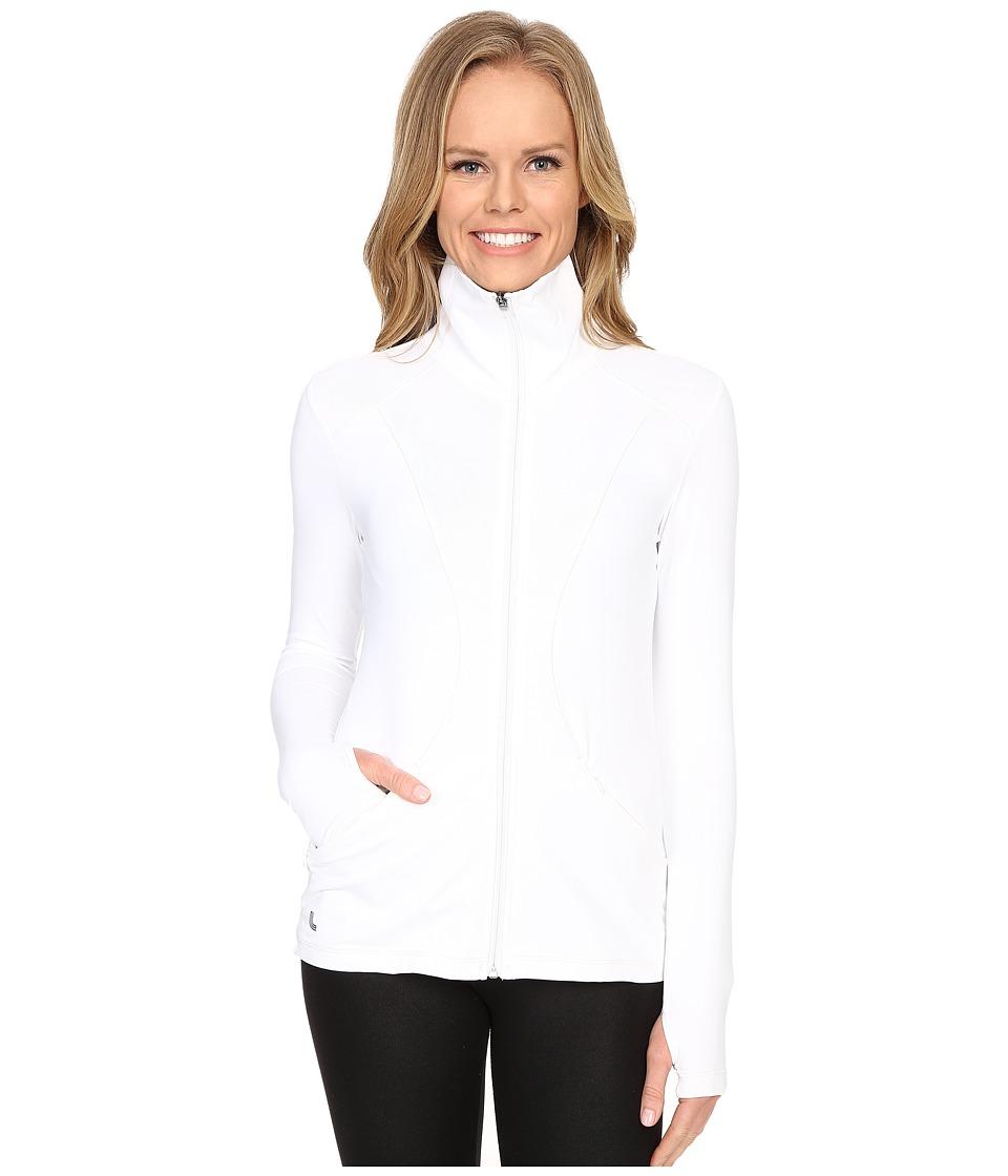 Lole - Essential Cardigan (White) Women