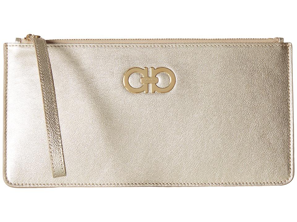 Salvatore Ferragamo - 22C230 Wristlet (Stardust) Wristlet Handbags