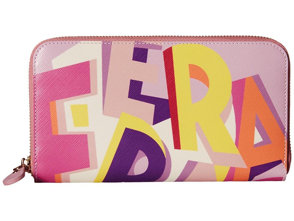 Salvatore Ferragamo - 22C451 Wallet (Multicolor) Clutch Handbags