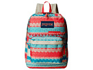 JanSport Digibreak (Malt Tan Boho Stripe)