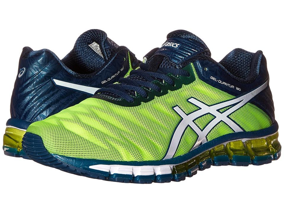 ASICS GEL Quantum 180 Flash Yellow/White/Ink Mens Running Shoes