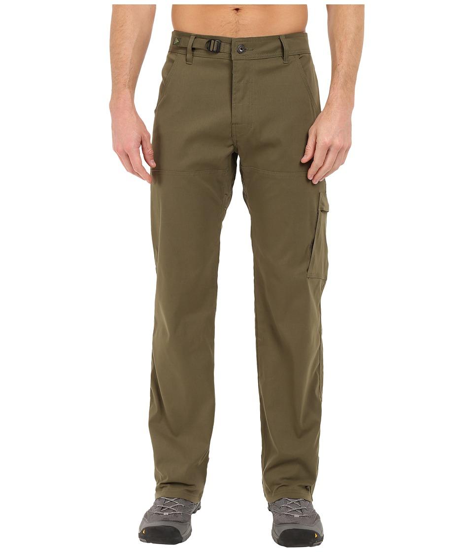 Prana Stretch Zion Pant (Cargo Green) Men