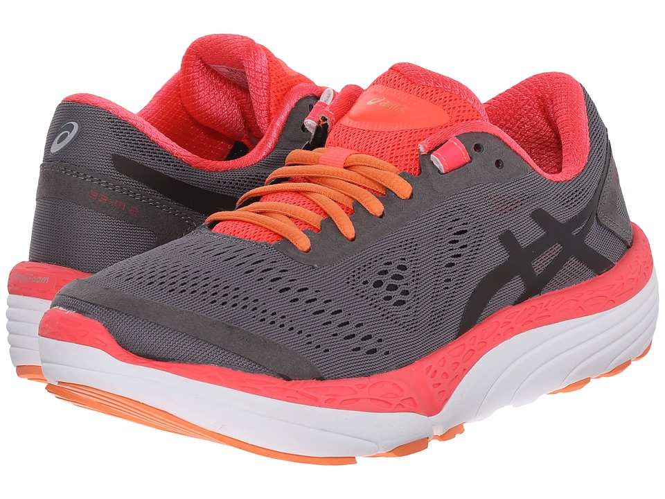 ASICS 33 M 2 Titanium/Black/Diva Pink Womens Running Shoes
