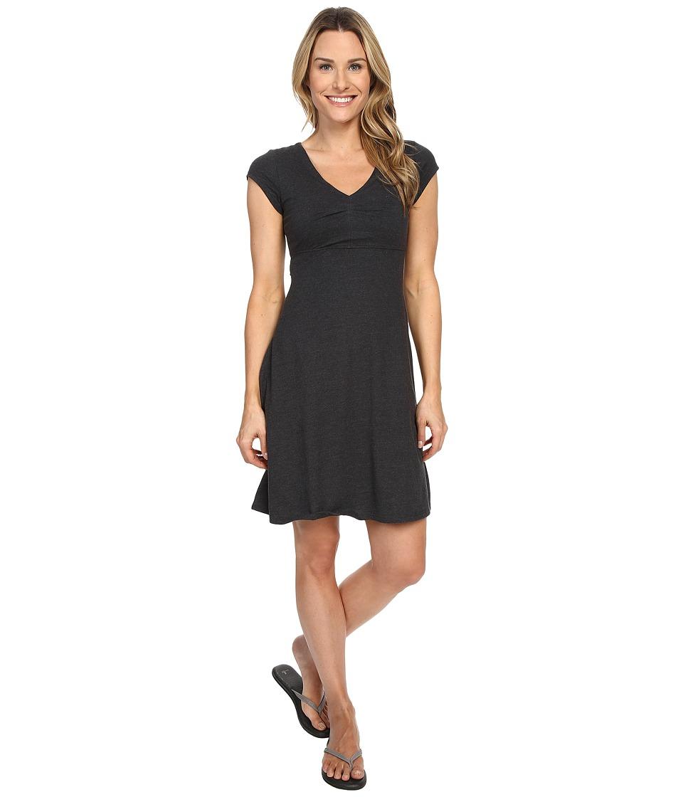 ToadampCo Rozmonde Short Sleeve Dress Black Heather Womens Dress