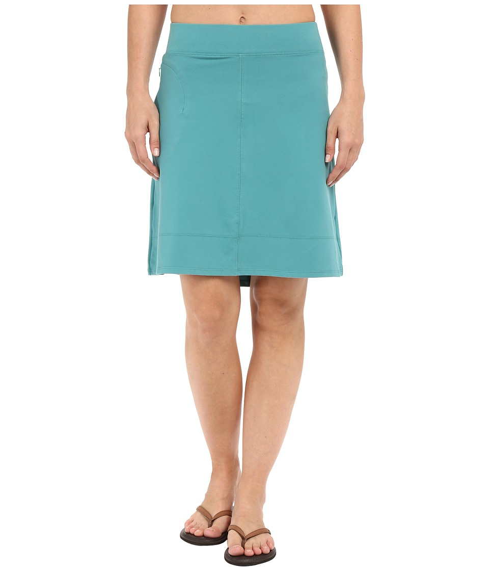 ToadampCo Corsica Skirt Dark Turquoise Womens Skirt