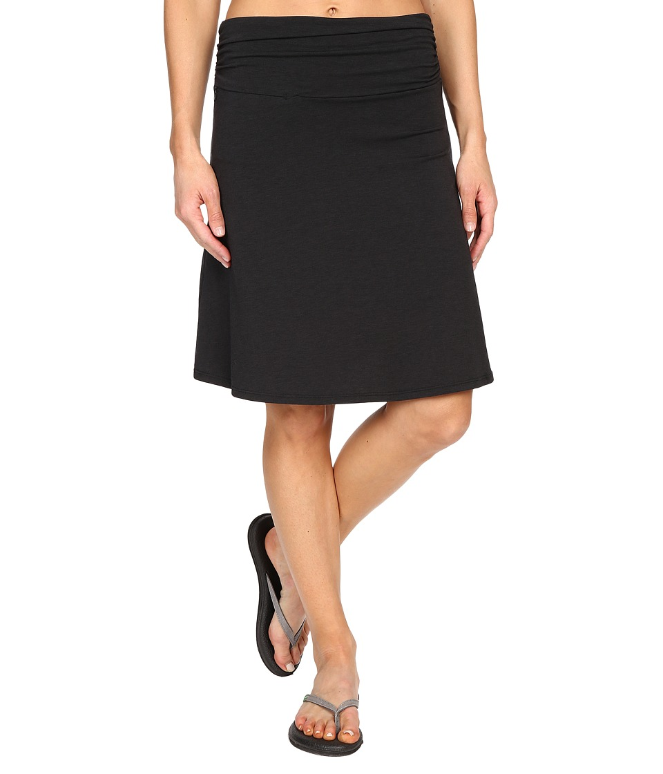 Toad&Co Swifty Chaka Skirt (Black) Women